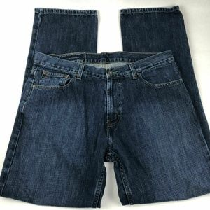 Tommy Hilfiger Custom Straight Jeans Men's 34 X 32